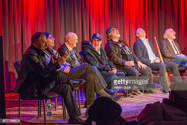 Singer/songwriter Jerry Goldstein songwriter Jeff Barry songwriter Mike Stoller music producer Brooks Arthur editorÊBob Sarles Brett Berns and Joel...