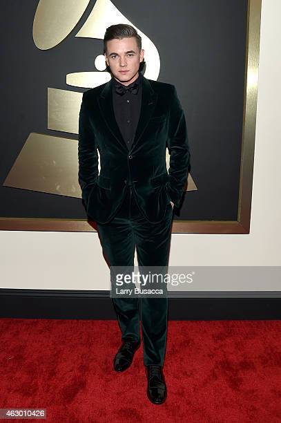 Singer/Songwriter Jesse McCartney attends The 57th Annual GRAMMY Awards at the STAPLES Center on February 8, 2015 in Los Angeles, California.