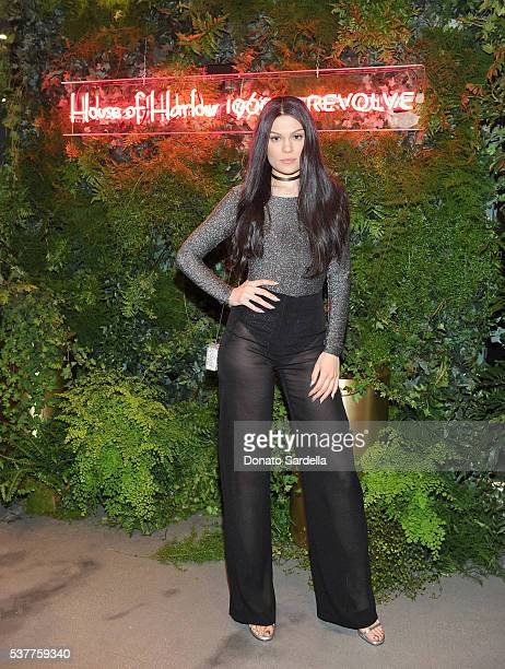 Singersongwriter Jessie J attends House of Harlow 1960 x REVOLVE on June 2 2016 in Los Angeles California