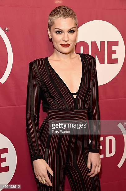SingerSongwriter Jessie J attends ONE And 's 'It Always Seems Impossible Until It Is Done' 10th anniversary celebration at Carnegie Hall on December...