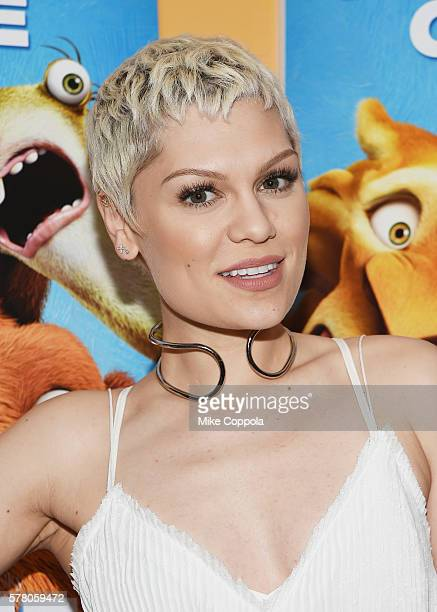 Singer/songwriter Jessie J attends the 'Ice Age Collision Course' New York Screening at Crosby Street Hotel on July 20 2016 in New York City