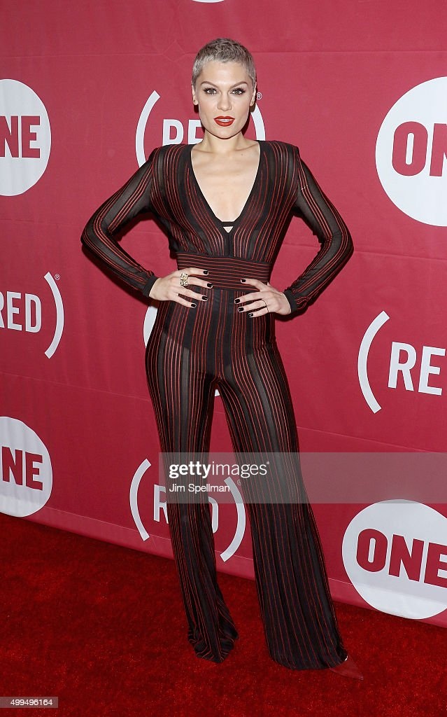 Singer/songwriter Jessie J attends the ONE And (RED)'s 'It Always Seems Impossible Until It Is Done' at Carnegie Hall on December 1, 2015 in New York City.