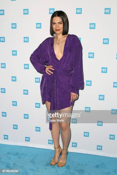 Singersongwriter Jessie J attends We Day California 2017 Cocktail Reception at NeueHouse Hollywood on April 26 2017 in Los Angeles California