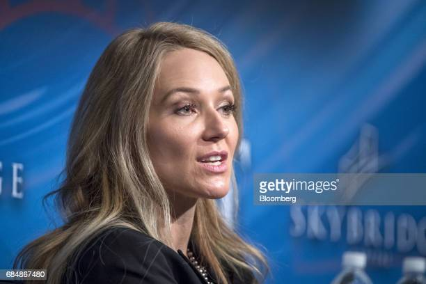 SingerSongwriter 'Jewel' Kilcher speaks at the Skybridge Alternatives conference in Las Vegas Nevada US on Thursday May 18 2017 The SALT Conference...