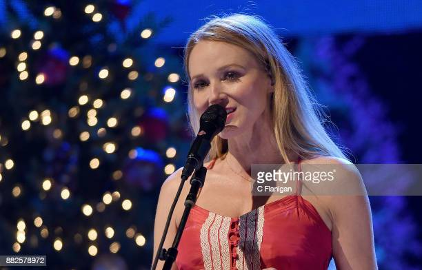 Singersongwriter Jewel performs during her 'Handmade Holiday Tour' at City National Civic on November 29 2017 in San Jose California