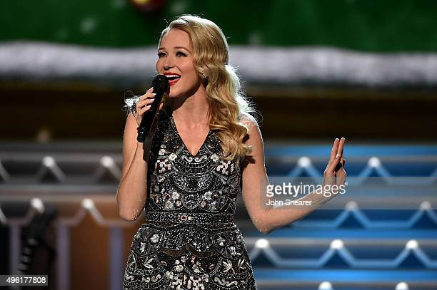 Singer-songwriter Jewel performs during the CMA 2015 Country Christmas on November 7, 2015 in Nashville, Tennessee.