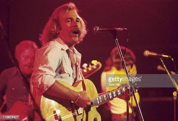 Jimmy Buffett and the Coral Reefers during Jimmy Buffett Performs at The Omni September 4 1976 at Omni Coliseum in Atlanta Georgia United States