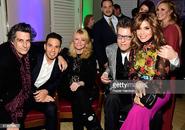 Singersongwriter Jimmy Demers Olympic speed skater Apolo Ohno former model Cheryl Tiegs songwriter Donnie Demers and TV personality Paula Abdul...