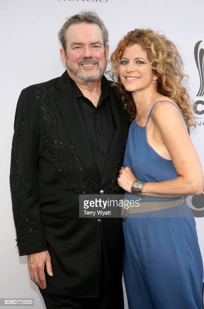 Singersongwriter Jimmy Webb and Laura Savini attend the 11th Annual ACM Honors at the Ryman Auditorium on August 23 2017 in Nashville Tennessee