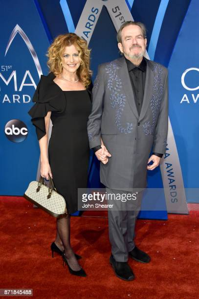 Singersongwriter Jimmy Webb and Laura Savini attend the 51st annual CMA Awards at the Bridgestone Arena on November 8 2017 in Nashville Tennessee