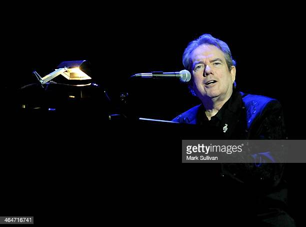 Singersongwriter Jimmy Webb performs at 'A Song Is Born' the 16th Annual GRAMMY Foundation Legacy Concert held at the Wilshire Ebell Theater on...