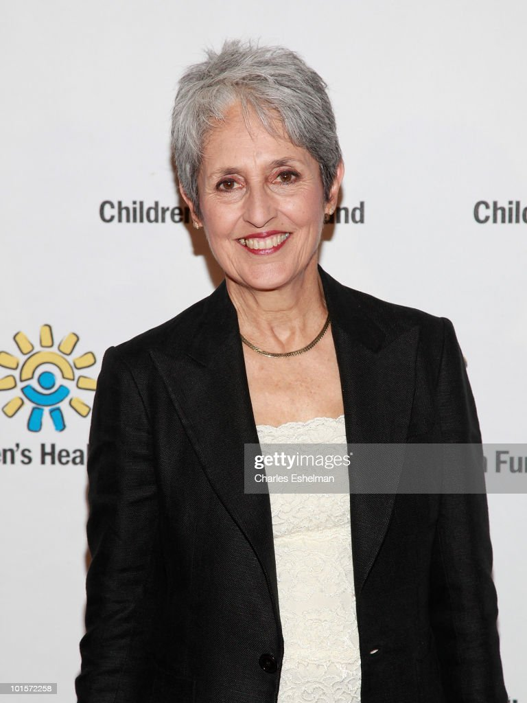 Singer/songwriter Joan Baez attends the 2010 Children's Health Fund Benefit Gala at The Hilton New York on June 2, 2010 in New York City.