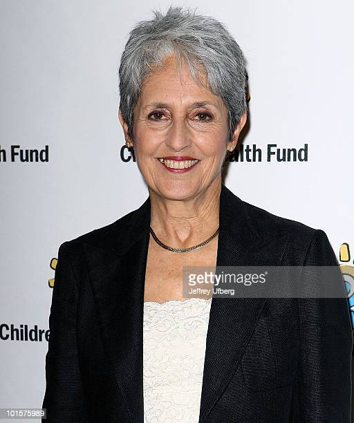 Singer/Songwriter Joan Baez attends the 2010 Children's Health Fund Benefit Gala at The Hilton New York on June 2 2010 in New York City