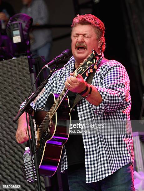 Singer/Songwriter Joe Diffie performs during Pepsi's Rock The South Festival - Day 2 at Heritage Park on June 4, 2016 in Cullman, Alabama.
