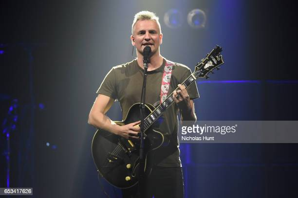 Singersongwriter Joe Sumner performs onstage during the Sting 57th 9th World Tour at Hammerstein Ballroom on March 14 2017 in New York City