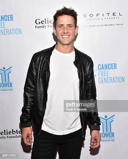 Singersongwriter Joey McIntyre arrives at Tower Cancer Research Foundation's 3rd annual Ante Up For a Cancer Free Generation Poker Tournament and...
