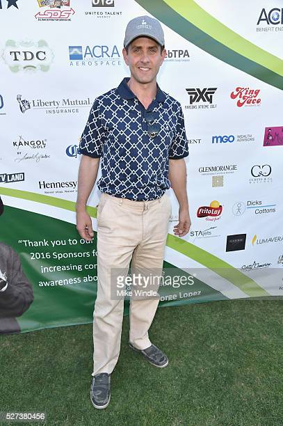 Singersongwriter Joey McIntyre attended the 9th Annual George Lopez Celebrity Golf Classic to benefit The George Lopez Foundation on Monday May 2nd...