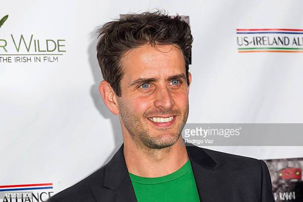 Singer/songwriter Joey McIntyre attends the USIreland Alliance PreAcademy Awards Event Honoring Conan O'Brien and Chad Hurley at Bad Robot on...