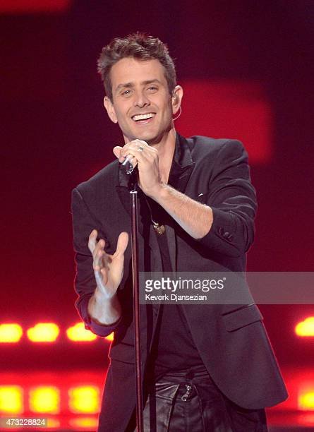 Singer/songwriter Joey McIntyre of NKOTB performs onstage during American Idol XIV Grand Finale at Dolby Theatre on May 13 2015 in Hollywood...