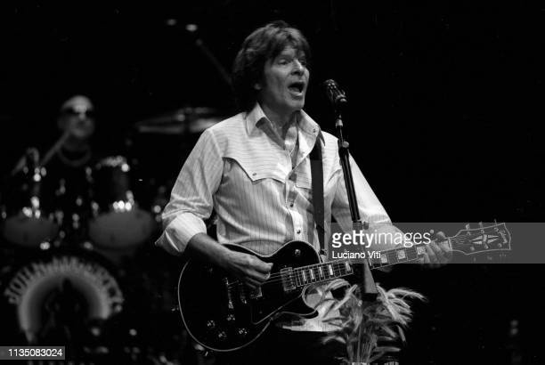 Singersongwriter John Fogerty former guitarist and vocalist of rock band Creedence Clearwater Revival Rome Italy July 25 2009