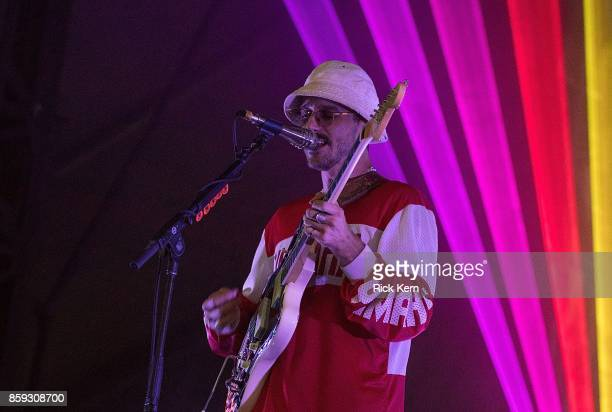Singersongwriter John Gourley of Portugal The Man performs onstage during weekend one day three of Austin City Limits Music Festival at Zilker Park...