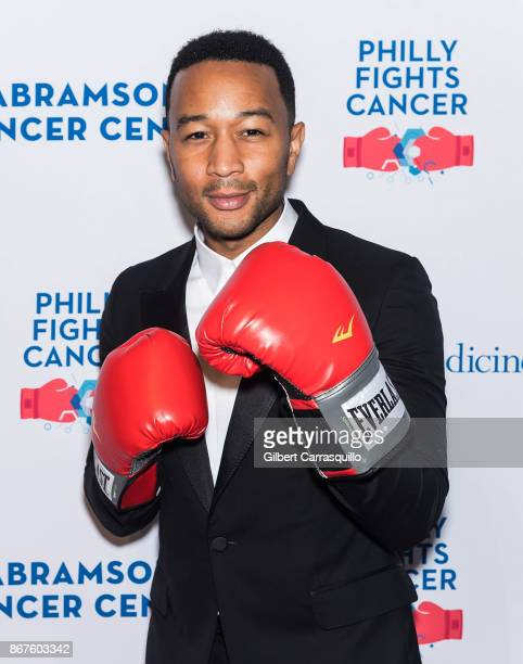 Singersongwriter John Legend attends Philly Fights Cancer Round 3 at The Philadelphia Navy Yard on October 28 2017 in Philadelphia Pennsylvania