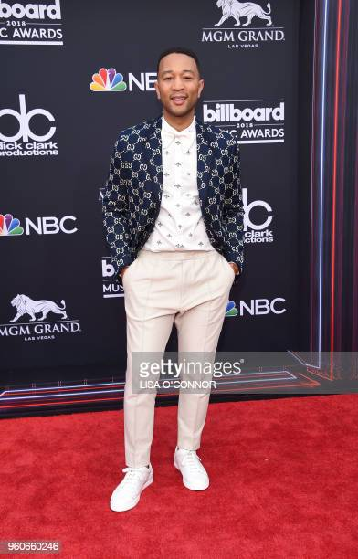 Singer/songwriter John Legend attends the 2018 Billboard Music Awards 2018 at the MGM Grand Resort International on May 20 in Las Vegas Nevada