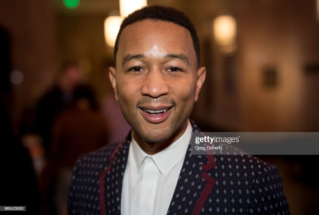 "John Legend Attends ""Turn Me Loose"" : News Photo"