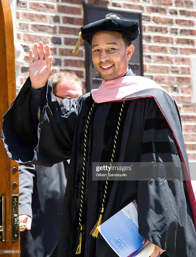 University of Pennsylvania's 258th Commencement Ceremony : News Photo