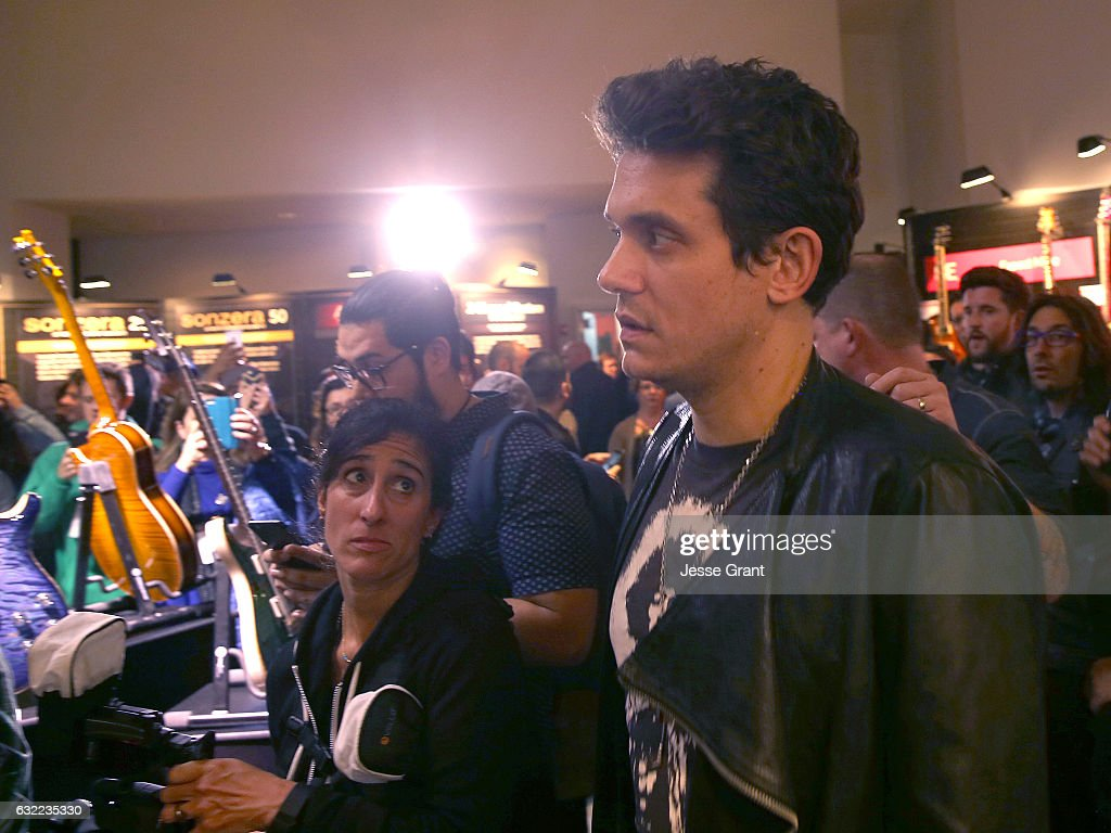 Singer-songwriter John Mayer attends the 2017 NAMM Show at the Anaheim Convention Center on January 20, 2017 in Anaheim, California.