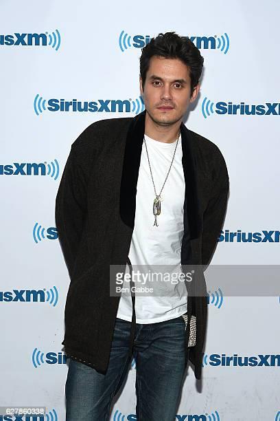 Singersongwriter John Mayer visits at SiriusXM Studio on December 5 2016 in New York City