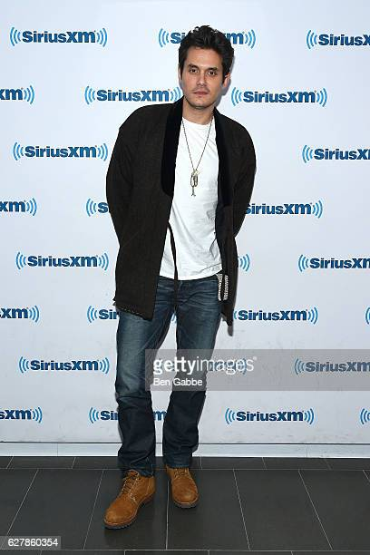 Singersongwriter John Mayer visits at SiriusXM Studio on December 5 2016 in New York City