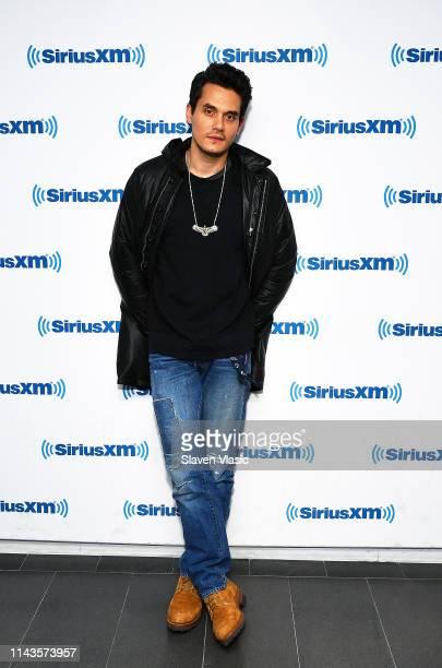 Singer/songwriter John Mayer visits SiriusXM Studios on May 13 2019 in New York City