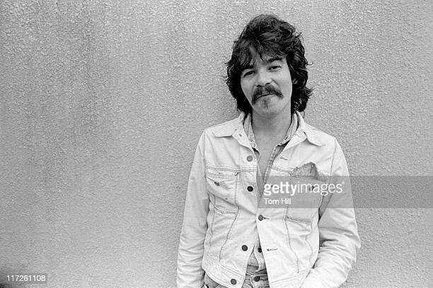 Singer-songwriter John Prine hangs out on campus before being interviewed live on WRAS-FM at Georgia State College on November 12, 1975 in Atlanta,...