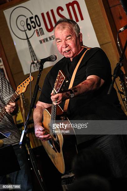 Singersongwriter John Prine performs during the 17th Annual Americana Music Festival Conference at the Station Inn on September 22 2016 in Nashville...