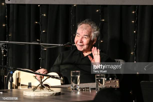 Actor Bill Murray speaks during The Recording Academy's Up Close And Personal With John Prine And Bill Murray on September 25 2018 in Nashville...
