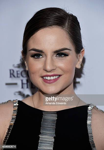 Singer-songwriter JoJo arrives at the 3rd Annual Unlikely Heroes Awards Dinner and Gala at the Sofitel Hotel on November 8, 2014 in Los Angeles,...