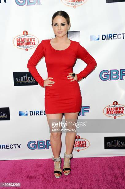 Singer/songwriter JoJo arrives at the Los Angeles premiere of 'GBF' at Chinese 6 Theater in Hollywood on November 19 2013 in Hollywood California