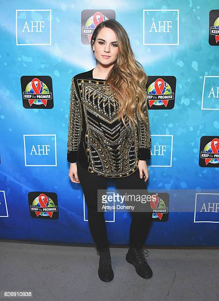 Singersongwriter JoJo attends AIDS Healthcare Foundations Keep the Promise Concert at the Dolby Theatre in Hollywood CA on November 30 2016 The...