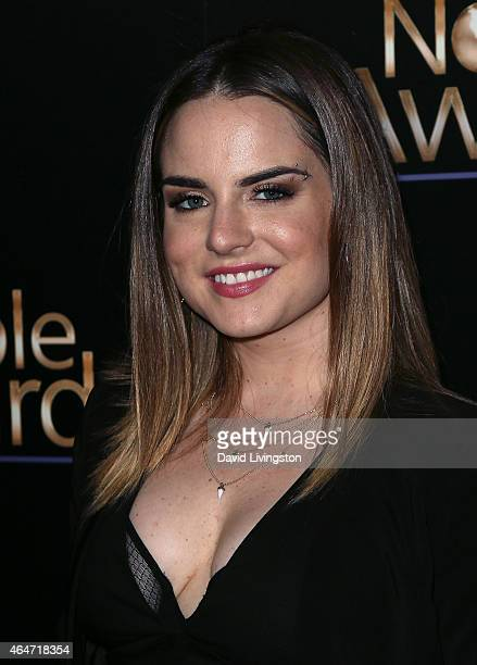 Singer/songwriter JoJo attends the 3rd Annual Noble Awards at the Beverly Hilton Hotel on February 27 2015 in Beverly Hills California