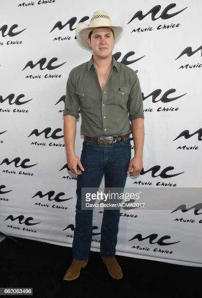 Singersongwriter Jon Pardi attends the 52nd Academy Of Country Music Awards Cumulus/Westwood One Radio Remotes at TMobile Arena on March 31 2017 in...