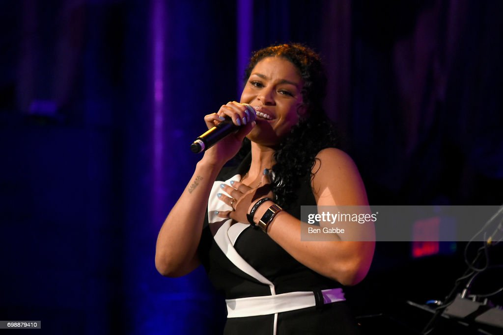 Singer-songwriter Jordin Sparks performs at the Big Brothers Big Sisters of NYC annual Casino Jazz Night at Cipriani 42nd Street on June 20, 2017 in New York City.