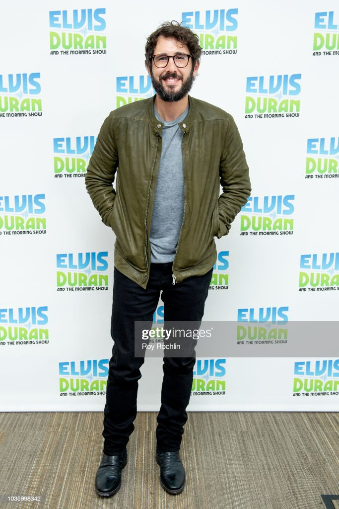 "Josh Groban Visits ""The Elvis Duran Z100 Morning Show"""