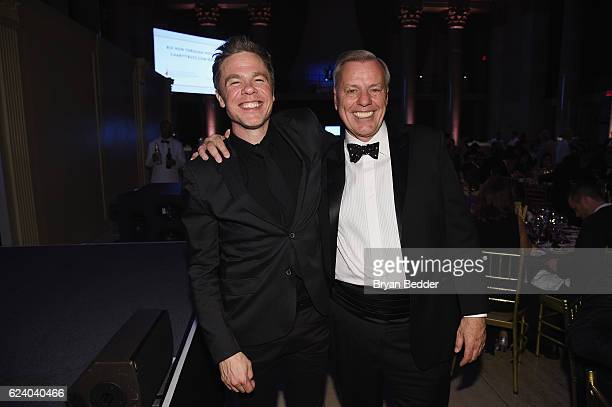 Singersongwriter Josh Ritter and Reeve Foundation President Peter Wilderotter attend the Christopher Dana Reeve Foundation hosts A Magical Evening at...