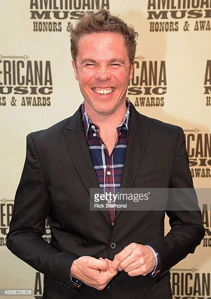 Singersongwriter Josh Ritter attends the 13th annual Americana Music Association Honors and Awards Show at the Ryman Auditorium on September 17 2014...