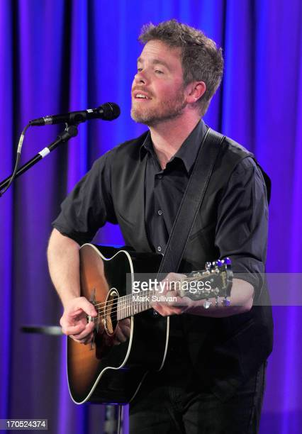 Singer/songwriter Josh Ritter performs during Spotlight Josh Ritter at The GRAMMY Museum on June 13 2013 in Los Angeles California