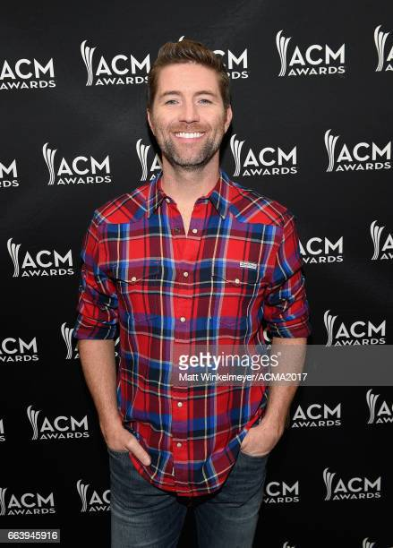 Singersongwriter Josh Turner at the ACM Awards Official After Party at the Park Theater on April 2 2017 in Las Vegas Nevada