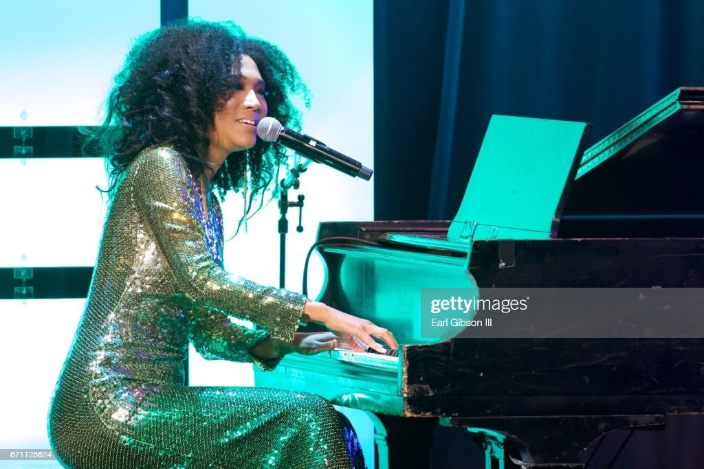 Singer/Songwriter Judith Hill performs at the Independent School Alliance Impact Awards at the Beverly Wilshire Four Seasons Hotel on April 20, 2017 in Beverly Hills, California.