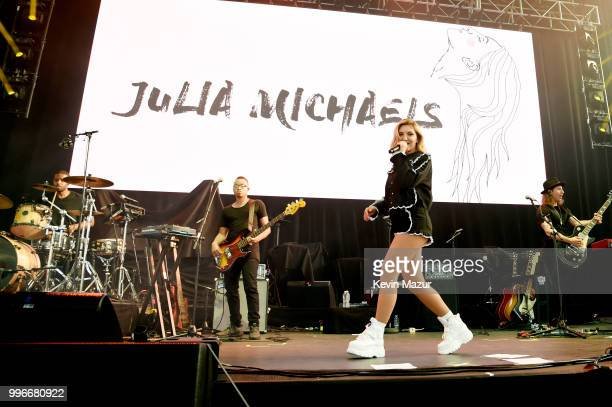 Singersongwriter Julia Michaels performs onstage at the Amazon Music Unboxing Prime Day event on July 11 2018 in Brooklyn New York