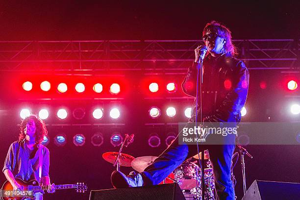 Singersongwriter Julian Casablancas of The Strokes performs onstage during weekend one day three of Austin City Limits Music Festival at Zilker Park...